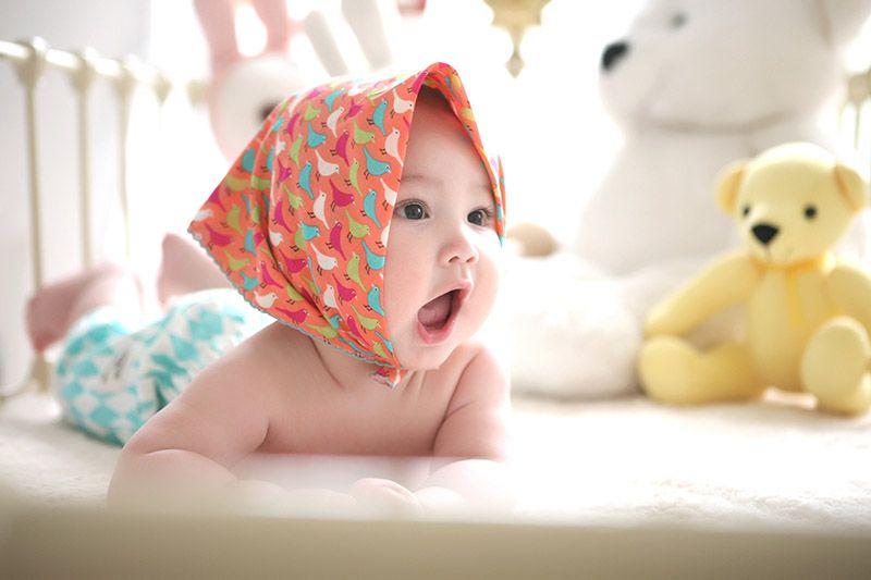 Bebis-i-spjälsäng