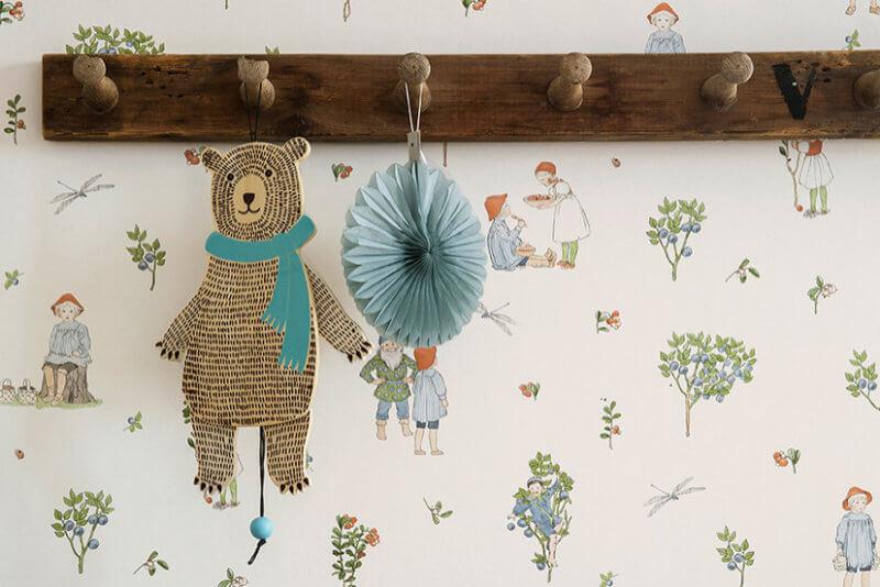 Barntapet-med-björn